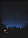 Mercury, Venus, Saturn December 2012